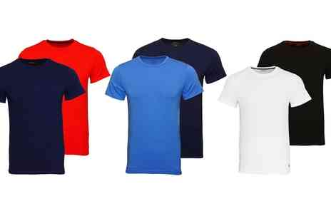 Groupon Goods Global GmbH - Ralph Lauren Crew Neck Tshirt Two Pack - Save 0%