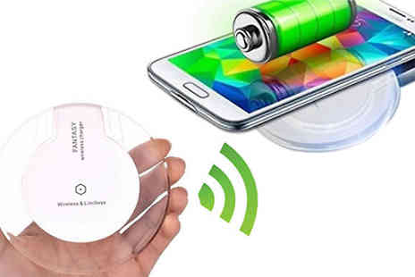 Home Season - Wireless Charger Dock Apple & Android Compatible - Save 75%