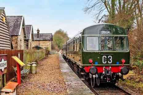 Ecclesbourne Valley Railway - All day heritage train ride - Save 35%