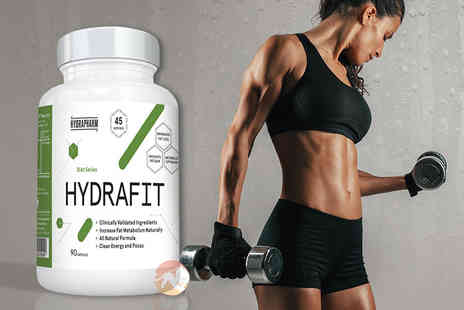 Predator Nutrition - 90 hydrafit fat burner capsules - Save 60%