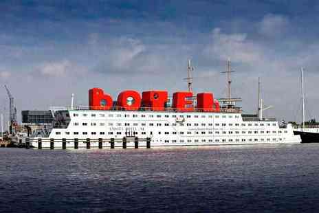 Crystal Travel - Two or three night Amsterdam boat hotel stay with city canal cruise - Save 32%