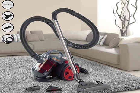 Groundlevel - 700W cyclonic bagless vacuum cleaner, with a limited number available - Save 80%