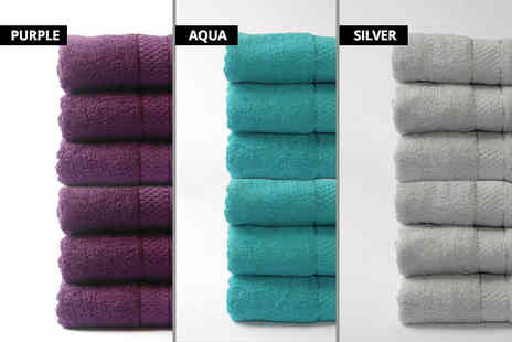 U Are Home - Set of six Egyptian cotton bath sheets - Save 80%