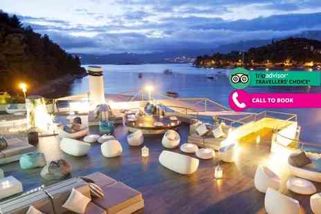 Super Escapes Travel - Four or Seven night, 5 Star half board Cavtat, Croatia break with flights - Save 21%