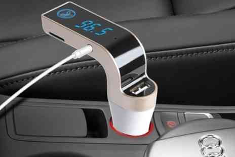 Groupon Goods Global GmbH - iMounTEK Bluetooth Fm Car Transmitter - Save 28%