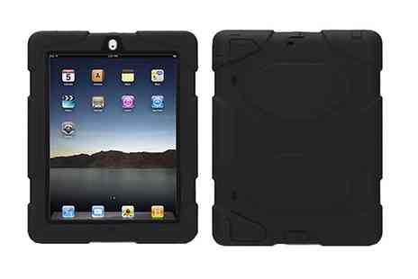 Groupon Goods Global GmbH - Jazooli Heavy Duty Protective Case for iPad Air or iPad 2, 3, 4 - Save 0%