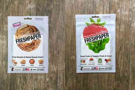 Groupon Goods Global GmbH - One, Two, Three or Four Packs of Fresh Paper for Bread or Produce - Save 67%
