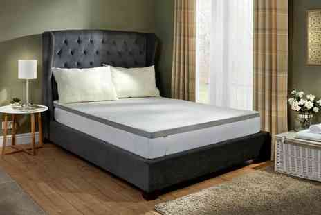 Groupon Goods Global GmbH - Memory Foam Mattress Topper - Save 65%