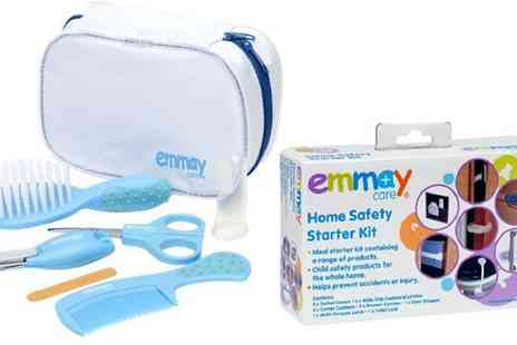 Groupon Goods Global GmbH - Emmay Care 24 Piece Baby Safety Kit or Baby Grooming Kit - Save 40%