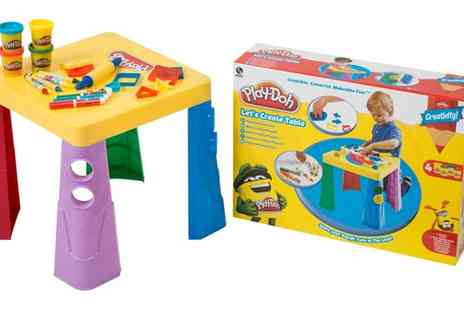 Groupon Goods Global GmbH - Play Doh Lets Create Table - Save 33%