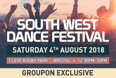 Festivus - Ticket to South West Dance Festival on 4 August - Save 30%