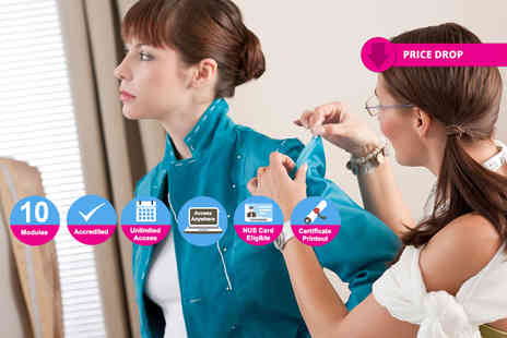 New Skills Academy - Accredited fashion design diploma course - Save 94%