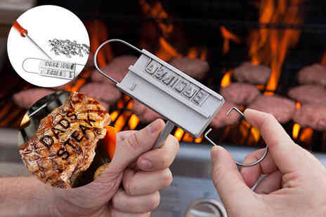 London Exchain Store - Quirky BBQ branding iron - Save 67%