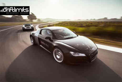 Drift Limits - 90 minute Audi R8 driving experience - Save 58%