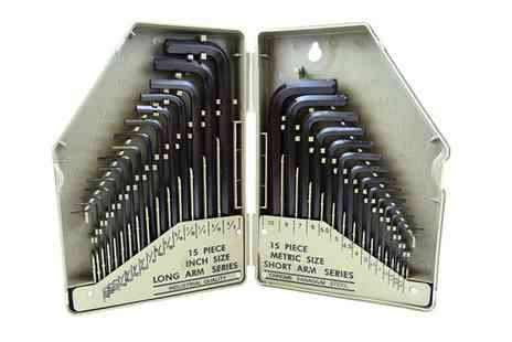 Groupon Goods Global GmbH - Ono or Two Hyfive 30 Piece Hex Key Sets - Save 0%