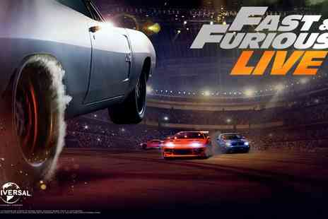 Fast and Furious Live - Ticket to Fast & Furious Live on Selected Dates 6 April to 13 May, Choice of Five Locations - Save 13%