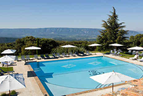 Hotel Les Bories & Spa - Five Star Luxurious Hilltop Villlage Stay For Two - Save 48%