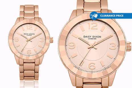 Deals Direct - Ladies Daisy Dixon Lara rose gold watch plus Delivery is Included - Save 46%