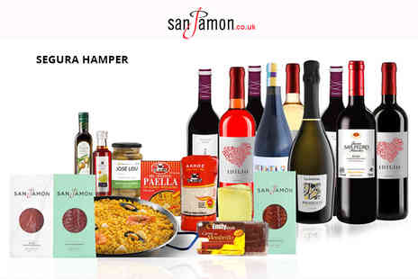 San Jamon - Spanish food and drink hamper - Save 39%