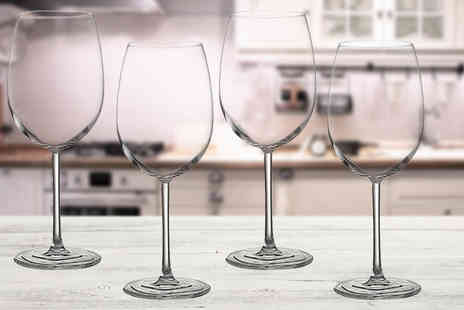 Dream Price Direct - Set of four or eight Jamie Oliver wine or champagne glasses - Save 62%