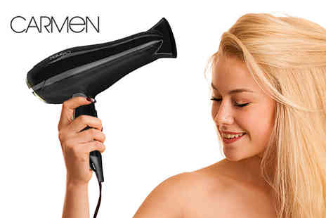 Deals Direct - Carmen Samantha Faiers 2400W hair dryer - Save 46%