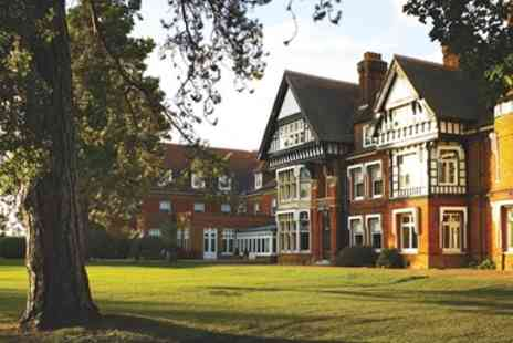 Woodlands Park Hotel - Overnight Surrey stay with dinner & bubbly - Save 0%