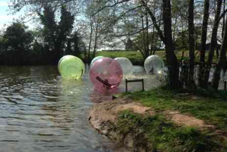 Pump It Up Events - Water Zorbing Experience for One, Two or Four - Save 44%