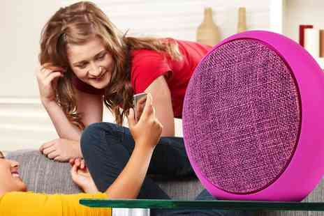 Groupon Goods Global GmbH - SZ250, SZ260 or SZ300 Soundz Fabric Bluetooth Speaker in Choice of Colour - Save 78%