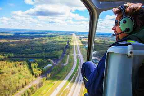 Whizzard Helicopters - Seven Mile Helicopter Flight for One or Two - Save 0%