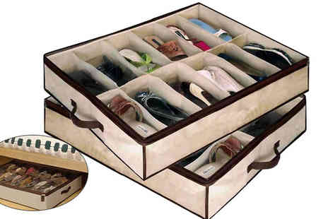 Fusion - Shoe Storage Organisers - Save 90%