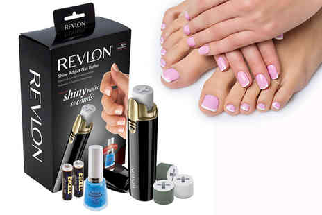 Dream Price Direct - Revlon nail buffer and nail rollers - Save 63%