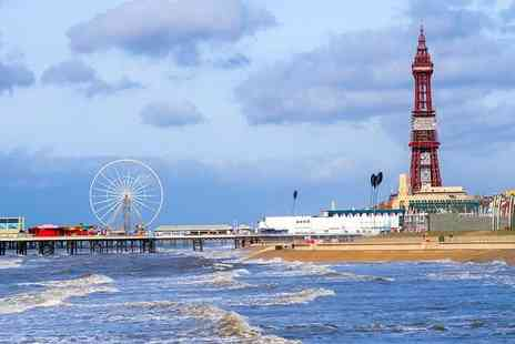 The Melville Hotel - Two or three night Blackpool stay for two with breakfast - Save 57%