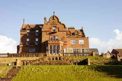 Adamton Country House Hotel - Overnight Prestwick stay for two including a full English breakfast each - Save 39%