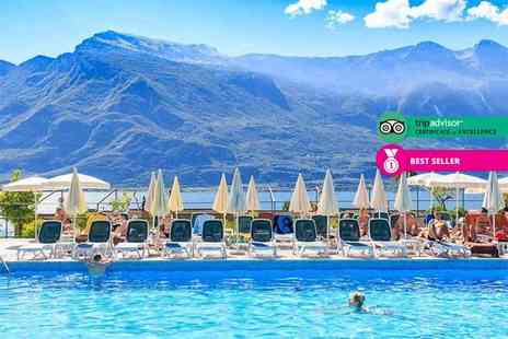 Bargain Late Holidays - Two,Three or Four night 4 Star all inclusive Lake Garda break including flights - Save 31%