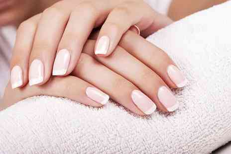 True Beauty by Cara - Manicure or manicure and pedicure - Save 59%
