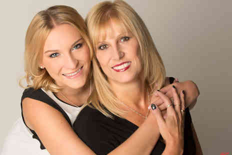 The Click Group - Mother and daughter makeover and photoshoot including two prints and a CD or download from The Fresh Group - Save 0%