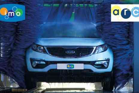 IMO Car Wash - One or Three Sessions of Triple Shampoo Car Wash - Save 33%