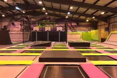 Rebound Revolution - One Hour Trampoline Park Entry for One, Two or Four - Save 35%