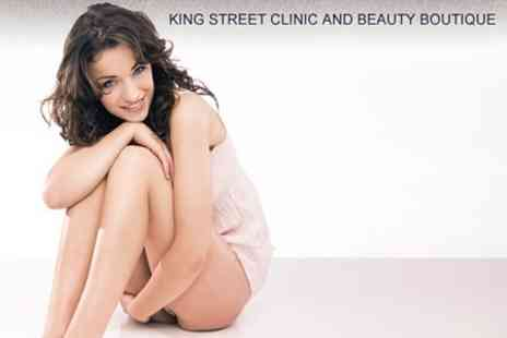 King Street Clinic - Bikini and Half Legs Wax Plus Eyebrow Shaping - Save 60%