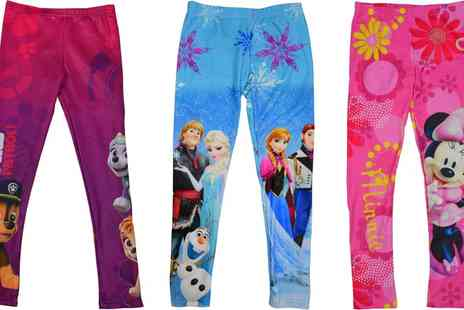 Groupon Goods Global GmbH - Girls Characters Leggings - Save 0%