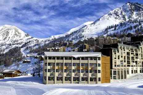 Hotel Club Du Soleil Le Chastillon - Four Star Sun Drenched Skiing in Isola 2000 For Two - Save 54%