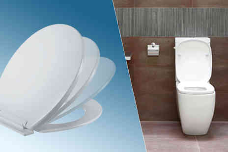 Mscomputers - Soft Close Toilet Seat With Fixings - Save 80%