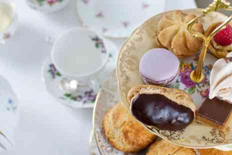 The Tea Set - Afternoon Tea for Two or Four with Optional Prosecco - Save 47%