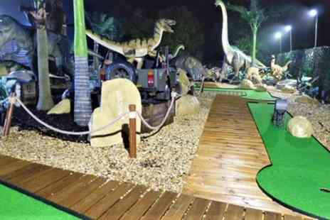 Wokingham Family Golf - Jurassic Adventure Mini Golf for Up to Five - Save 50%