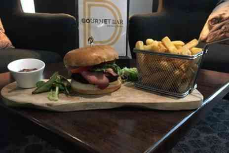Novotel York Centre - Burger or Fish and Chips with Beer or Wine for Two or Four - Save 62%