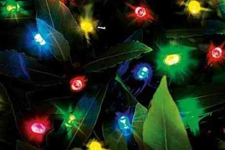 Groupon Goods Global GmbH - Cole And Bright 200 Multi Coloured Led String Lights - Save 0%
