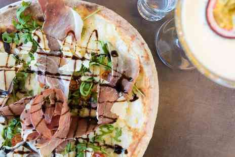 Blend Pizza Taste Lab - Two pizzas and a 750ml bottle of Prosecco for two - Save 48%