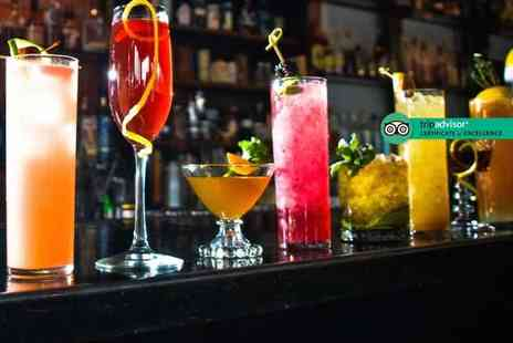 The Villager - Four cocktails of your choice with nachos to share for up to four - Save 0%