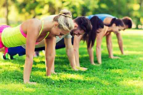 Go Project Fitness - Five boot camp fitness sessions - Save 86%