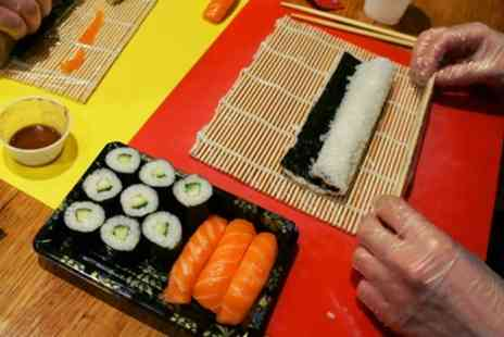 Suzu Japanese Tapas Bar - Two Hour Sushi Class with Rolling Mat and Optional Cookbook for One or Two - Save 57%